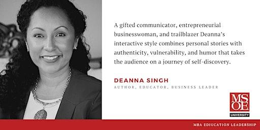 MSOE MBA EL Speaker Series: Deanna Singh