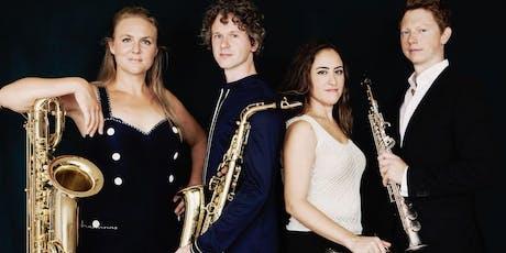 Nieuwjaarsconcert door het Berlage Saxofoon Kwartet tickets