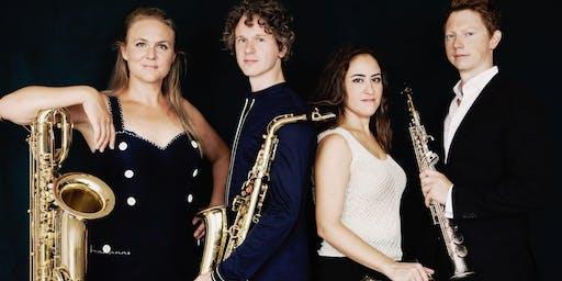 Nieuwjaarsconcert door het Berlage Saxofoon Kwartet