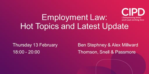 Employment Law : Hot Topics and Latest Update