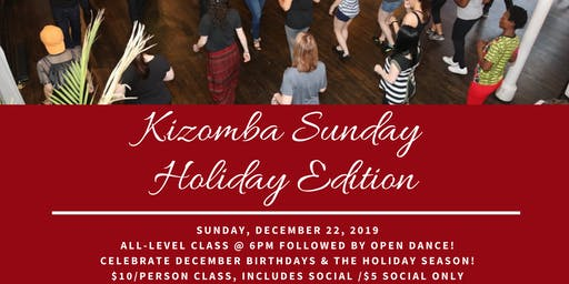 Kizomba Sunday Holiday SBKZ