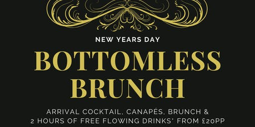 Festive Bottomless Brunch - New Year's Day