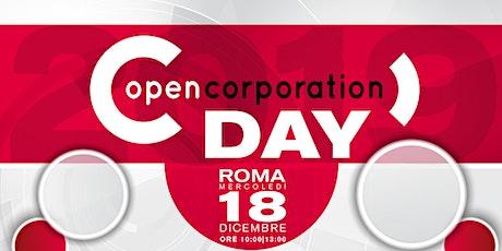 OpenCorporation Day 2019 biglietti