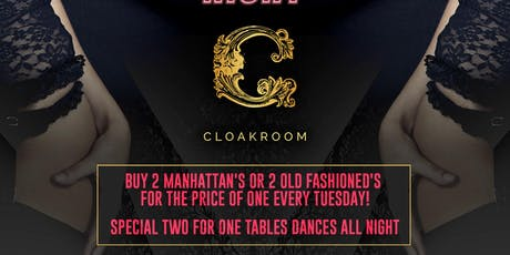 Two for One Night/Lace & Lingerie Night tickets