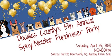 Douglas County Spay and Neuter Fundraising Party tickets