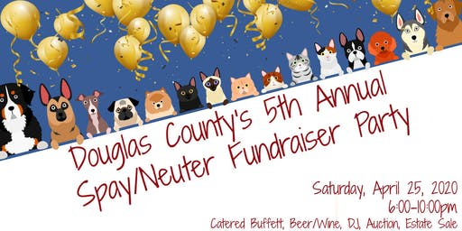 Douglas County Spay and Neuter Fundraising Party