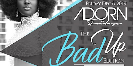 Adorn Friday's tickets