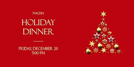 NACHA Holiday Dinner tickets