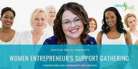 January Women Entrepreneur's Support Gathering - Genuine Social(TM) tickets
