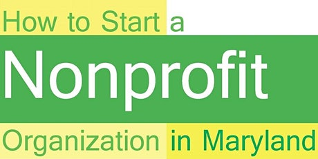 February 2020 How to Start and Maintain a Nonprofit Organization tickets