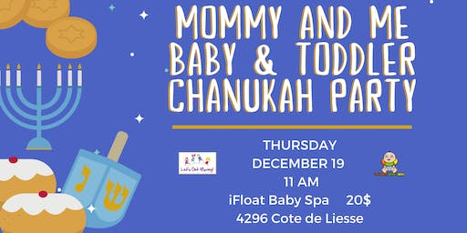Mom and Baby Chanukah Party with Mommy and Me Music