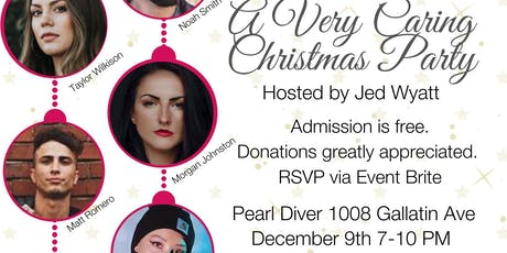 A Very Caring Christmas at Pearl Diver tickets