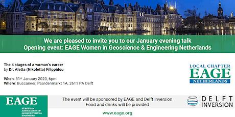 Opening Event: EAGE Women in Geoscience & Engineering Netherlands tickets