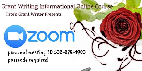 Grant Writing Informational Online Course- Texas tickets