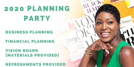 2020 Planning Party tickets