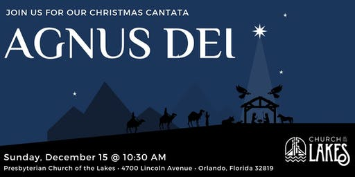 "Christmas Cantata ""Agnus Dei"""