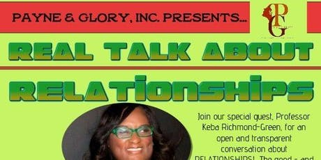 Real Talk About Relationships Virtual Event tickets