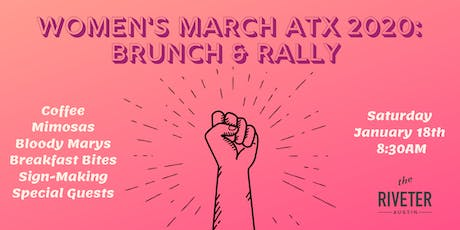 Women's March ATX 2020: Brunch and Rally tickets