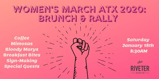 Women's March ATX 2020: Brunch and Rally