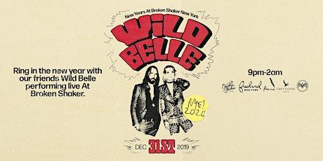 Wild Belle New Years At Broken Shaker New York tickets