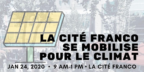 La Cité Franco Town Hall on the Future of Energy and Climate in Bonnie Doon tickets