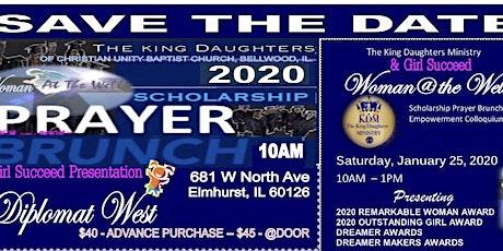 Woman at the Well Prayer Breakfast tickets