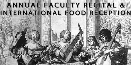 NBS Faculty Recital and International Food Reception tickets