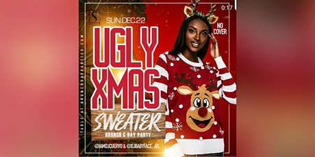 SUN DEC 22ND :: UGLY XMAS SWEATER BRUNCH & DAY PARTY (EAT × DRINK × PLAY) @ SUITE FOOD LOUNGE tickets