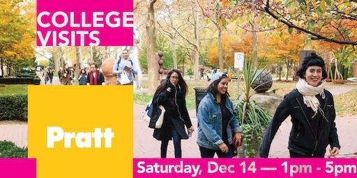 College Visit @ The Art Effect: Pratt Institute