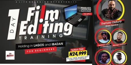 1 Day Film Editing Training for Beginners tickets