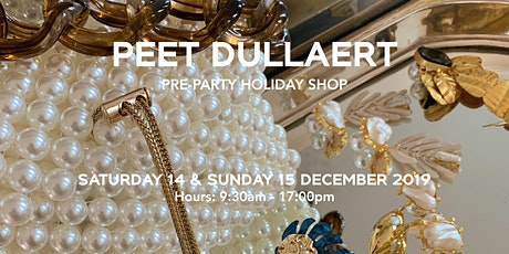 PEET DULLAERT  Pre-Party Holiday Shop   Archive Sample Sale #2 tickets