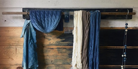 Indigo blue: An introduction to dyeing with indigo tickets