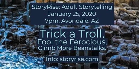 StoryRise: Climb More Beanstalks, Trick  Those Trolls (Stories for Adults) tickets