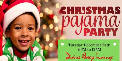 Children's Christmas Pajama Party With Authentic African Food  Menu!