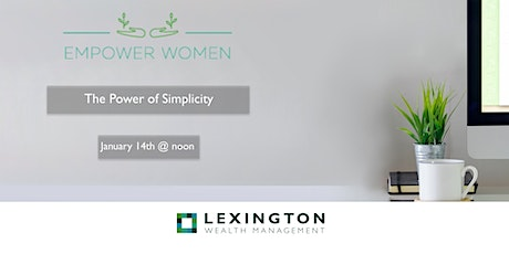 The Power of Simplicity tickets