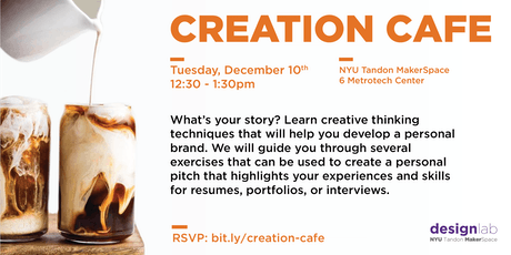 Creation Cafe tickets