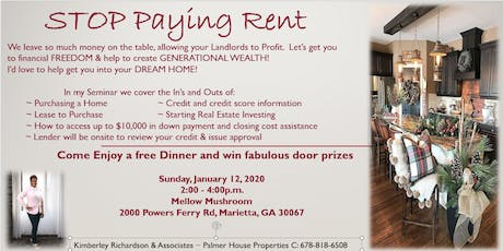 Home Buying Seminar & Beginning to Invest tickets