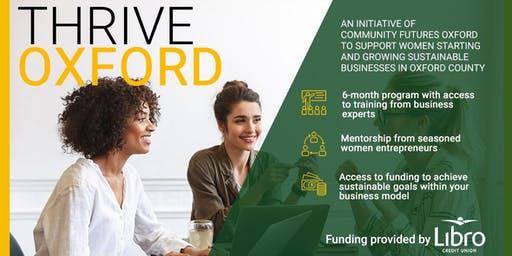 Thrive Oxford Information Session