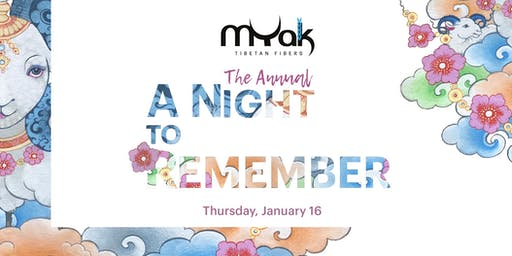 The Annual mYak  A Night to Remember