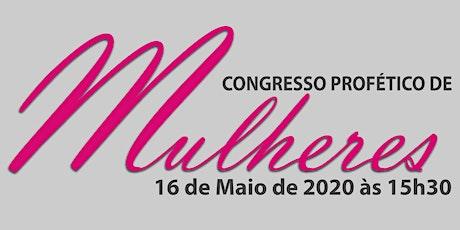 Congresso Profético de Mulheres 2020 ingressos
