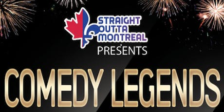 Stand Up Comedy Montreal ( Comedy Legends ) billets