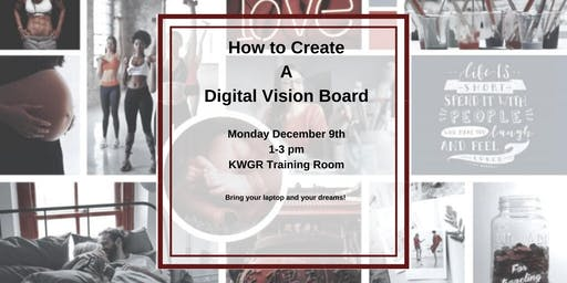How to Make a Digital Vision Board