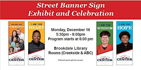 Street Banner Sign Exhibit and Celebration (City of Brooklyn Center) tickets