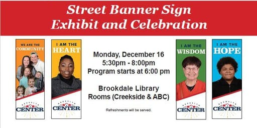 Street Banner Sign Exhibit and Celebration (City of Brooklyn Center)
