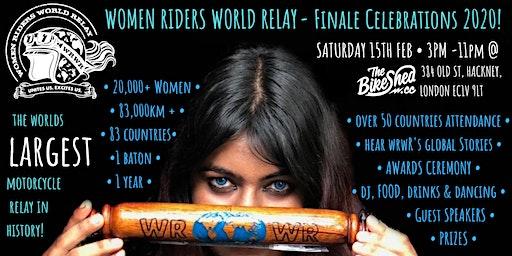 Women Riders World Relay - Finale Celebration 2020 @ The Bike Shed, London