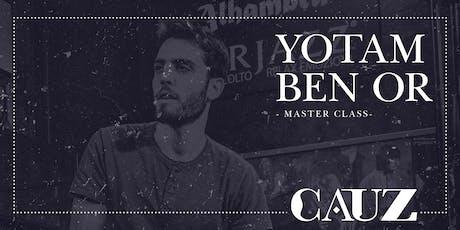 Yotam Ben Or -Master class- entradas