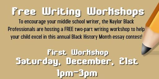 Free Writing Workshop! $200 Grand Prize!