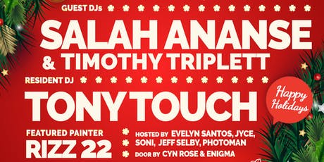 FunkboxNYC December 22nd with Tony Touch, Salah Ananse & Timothy Triplett. tickets