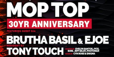Funkbox NYC- MOPTOP Anniversary with Ejoe, Brutha Basil & Tony Touch.  tickets