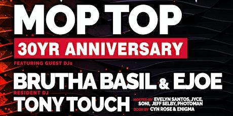 Funkbox NYC- MOPTOP Anniversary with Ejoe, Brutha Basil & Tony Touch.  tickets